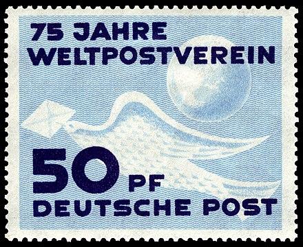 Briefmarken Jahrgang 1949 Der Deutschen Post Der Ddr Wikiwand