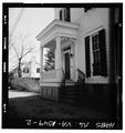 DETAIL, MAIN FACADE, PORCH AND ENTRANCE - Fendall House, 611 Oronoco Street, Alexandria, Independent City, VA HABS VA,7-ALEX,178-2.tif