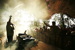 Breakcore - Image: DJDS at Glastonbury