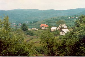 Dabar, Lika-Senj County - Scattered settlement Dabar.