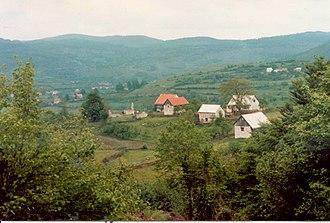 Dabar, Lika-Senj County - Scattered settlement Dabar.