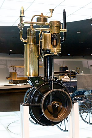 Wilhelm Maybach - The 1885 Grandfather Clock Engine