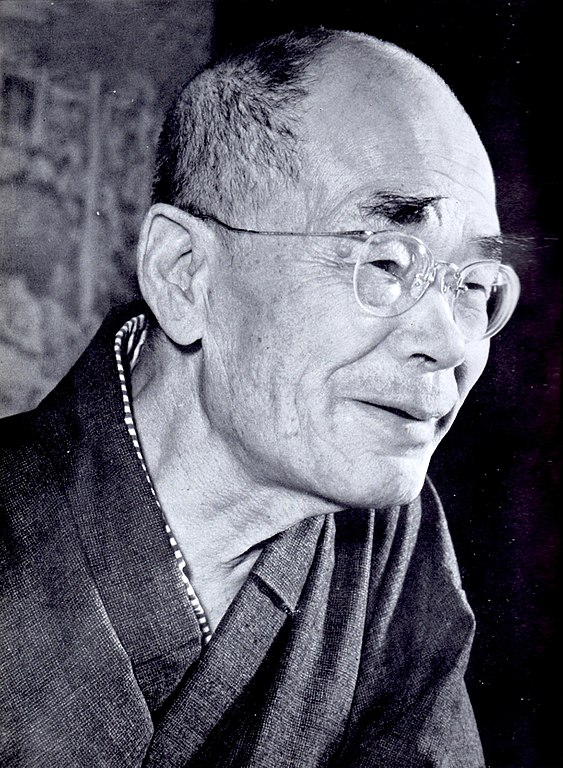 Photo of D.T. Suzuki