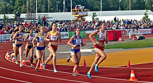 European Athletics U20 Championships - Women's 800 meter in heptathlon at the 2015 Championships