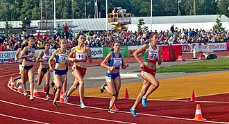 European Athletics U20 Championships - Women's 800 meter in heptathlon at the 2015 Championships