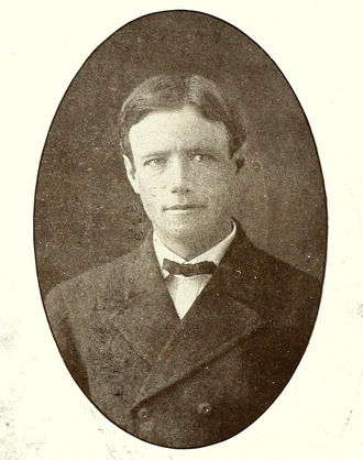 Daniel S. Martin - Martin pictured in Reveille 1906, Mississippi State yearbook