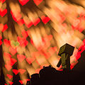 Danbo enjoys the fireworks of LOVE (7729344264).jpg