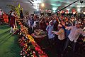 Dancing Devotees - Evening Function - Rawatpura Sarkar Ashram - Chitrakoot - Satna 2014-07-05 6873.JPG