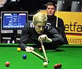 Daniel Wells and Neil Robertson at Snooker German Masters (DerHexer) 2013-01-30 03.jpg