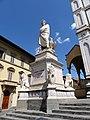 Dante, escultura, Florencia, Italia, 2019 01.jpg