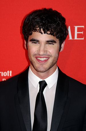 English: Darren Criss at the 2011 Time 100 gala.