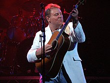 Greg Lake na koncertu v Dartfordu (UK) 2005