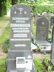 Grabsteinsetzung für Mietek Pemper am 29.Juni 2012