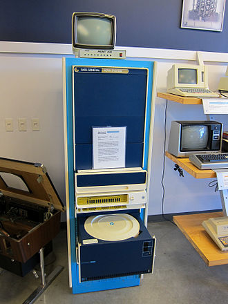History of computing hardware (1960s–present) - 1969 Data General Nova.