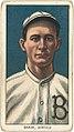 Dave Brain, Buffalo Team, baseball card portrait LCCN2008676919.jpg