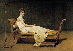 Jacques-Louis David: Portrait of Madame Récamier
