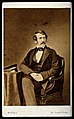 David Livingstone. Photograph by Mayall. Wellcome V0026724.jpg