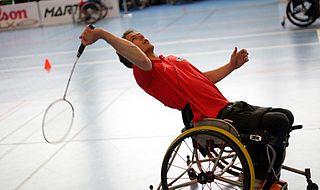 Para-Badminton badminton variation