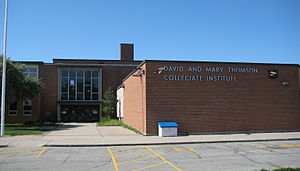 David and Mary Thomson Collegiate Institute.JPG