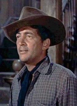 Dean Martin i filmen Rio Bravo 1959