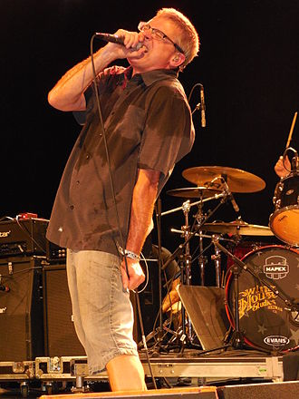 Milo Aukerman - Aukerman performing with the Descendents in 2014