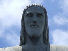 Detail, Christ the Redeemer statue.JPG