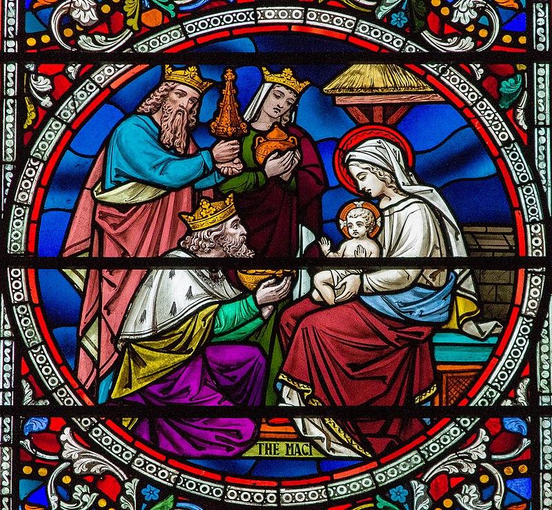 Деталь, Витраж № 38, Линкольнский собор (14224464197) .jpg
