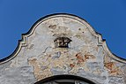 Detail of a building at Hornopolní 7, Ostrava, Moravian-Silesian Region, Czech Republic 03.jpg
