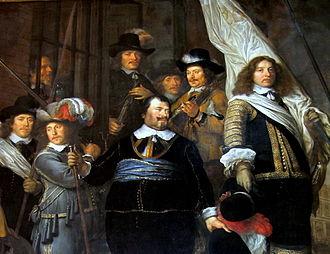 Joan Huydecoper van Maarsseveen (1599–1661) - Huydecoper as an officer of the civic guard  by Govert Flinck in the Amsterdams Historisch Museum