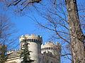 Dettaglio torri Castello di Aymavilles.JPG
