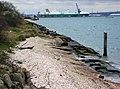 Dibden Foreshore - Tide In - geograph.org.uk - 387026.jpg