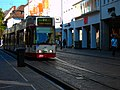 Die Straßenbahn in Freiburg im Breisgau.jpg