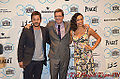 Diego Luna, Josh Welsh & Rosario Dawson 2015 Film Indepedent Spirit Awards.jpg