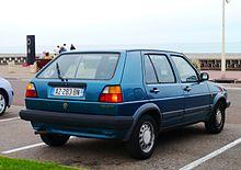 volkswagen golf mk2 wikipedia rh en wikipedia org VW Golf MK1 93 VW Golf