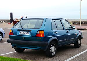 Volkswagen Golf Mk2 - VW Golf 5-door.
