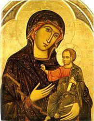 Dietisalvi di Speme: Madonna and child