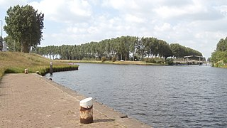 Dieze River in the Netherlands