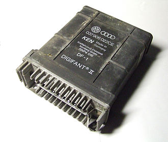Digifant engine management system - A Digifant II DF-1 Engine Control Unit used in '91 Volkswagen Golf Cabriolet with 2E engine