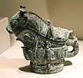 Dinastia shang, contenitore rituale per il vino, 1250 ac ca.jpg