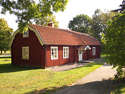 """Klockargården"", old house by Dingtuna church"