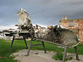 Dio srušenog MiG-21 Turanj Karlovac.jpg