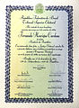 Diploma presidencial de Fernando Henrique Cardoso em 1994.jpg