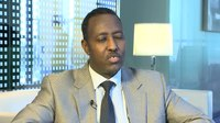 Файл:Director General Bishar Hussein on becoming UPU leader.ogv