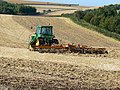 Disc harrowing near Peaks Downs, near Baydon - geograph.org.uk - 948929.jpg