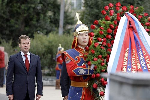Dmitry Medvedev in Mongolia August 2009-2