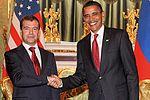 Dmitry Medvedev with Barack Obama 6 July 2009-3.jpg