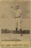 Doc Bushong, Brooklyn Trolley-Dodgers, Brooklyn Bridegrooms, baseball card portrait LCCN2007683759.tif