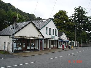 Dolgarrog - The shops at Dolgarrog