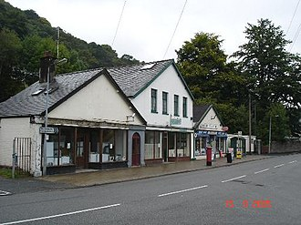 Dolgarrog - The shops at Dolgarrog
