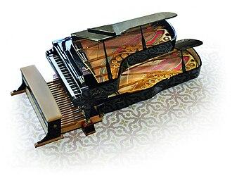 Innovations in the piano - The Doppio Borgato
